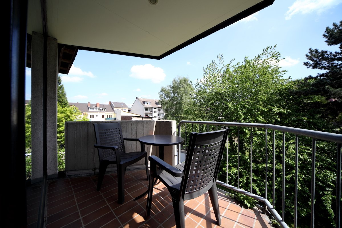 Apartmenthaus No11 Terrasse